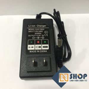 Adapter Sạc Pin 3S 12.6V 2A