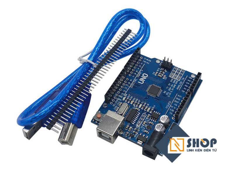 Arduino UNO R3 SMD chip dán (kèm cáp)