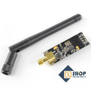 Mạch thu phát RF NRF24L01 + PA LNA 2.4Ghz Anten rời
