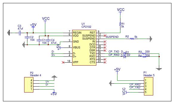 USB to TTL CP2102 vỏ nhôm