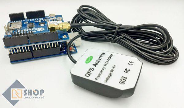 Anten GPS 1575.42Mhz SMA Dài 3m