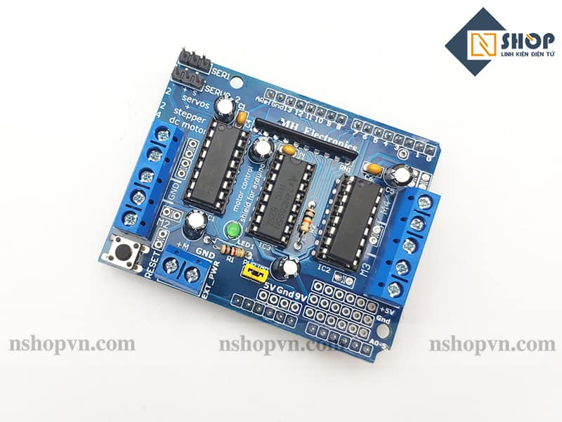 Arduino Motor Shield L293D
