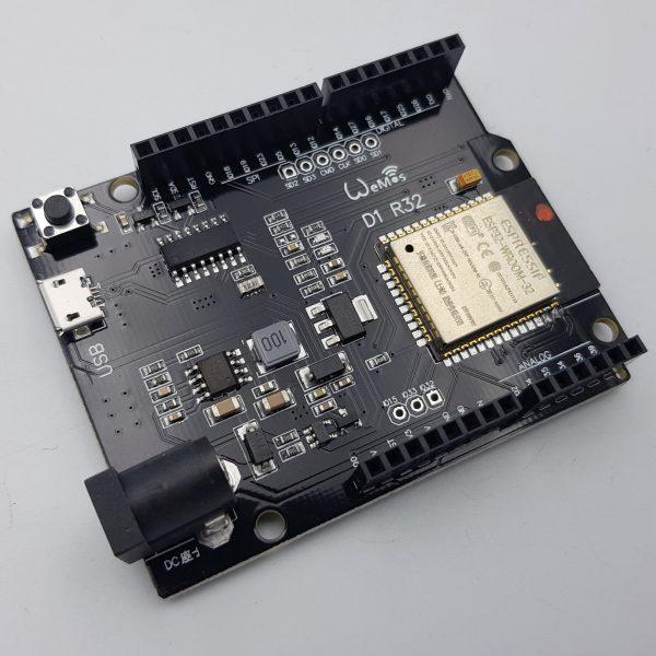 Arduino Wifi WeMos D1 R32 ESP32 BLE