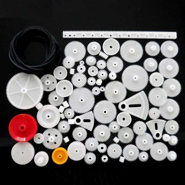 Bộ bánh răng nhựa DIY 81 món