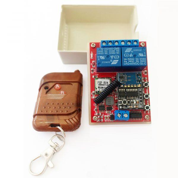 Bộ điều khiển 2 thiết bị từ xa Noulins Wifi + Remote