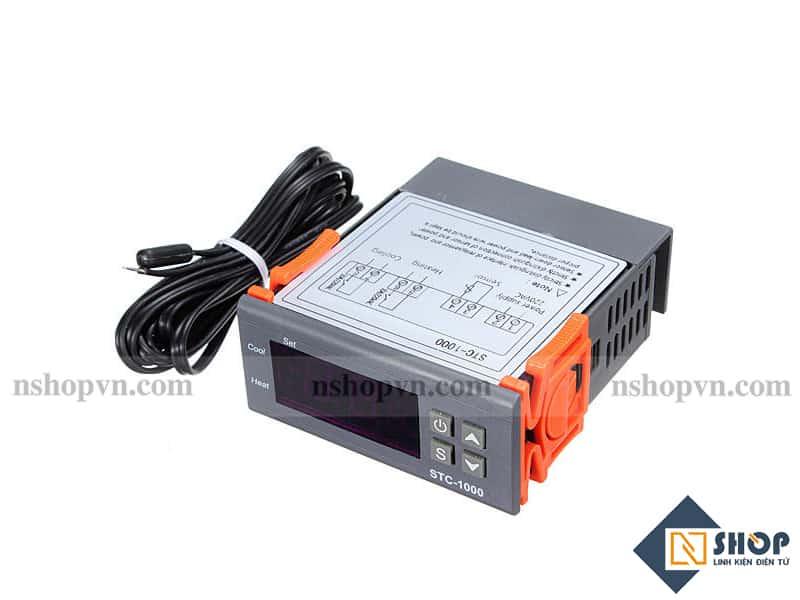Bộ Điều Khiển Nhiệt Độ Đóng Ngắt Relay 220VAC STC-1000