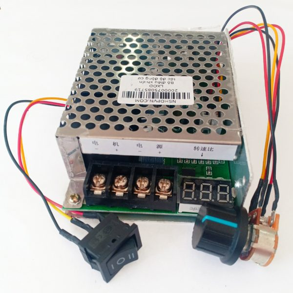Bộ điều khiển tốc độ động cơ 40A có đảo chiều và hiển thị