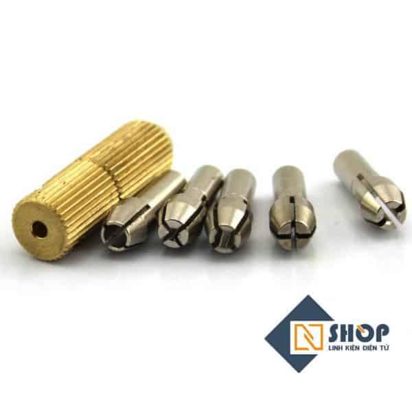 Bộ kẹp mũi khoan trục 3.17 mũi 0.3~3.2mm