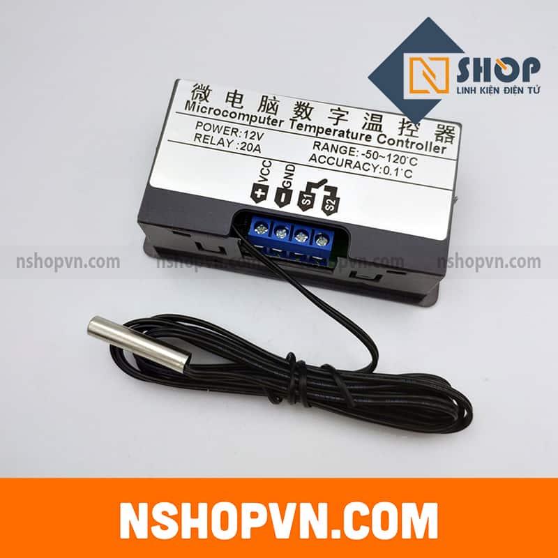 Bộ khống chế nhiệt độ W3230 12VDC