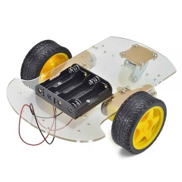 Bộ khung xe robot 3 bánh