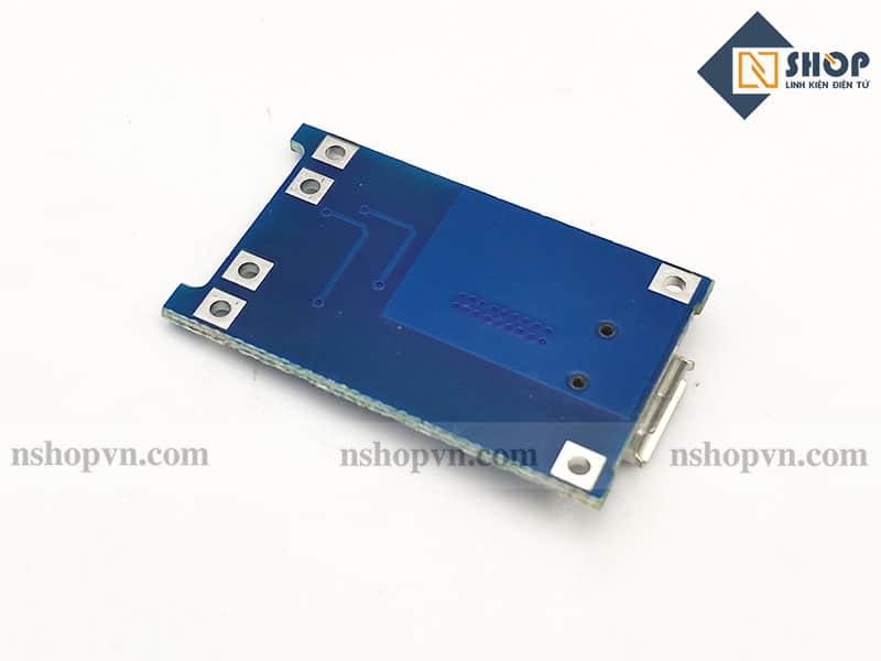Mạch sạc pin TP4056 có IC bảo vệ
