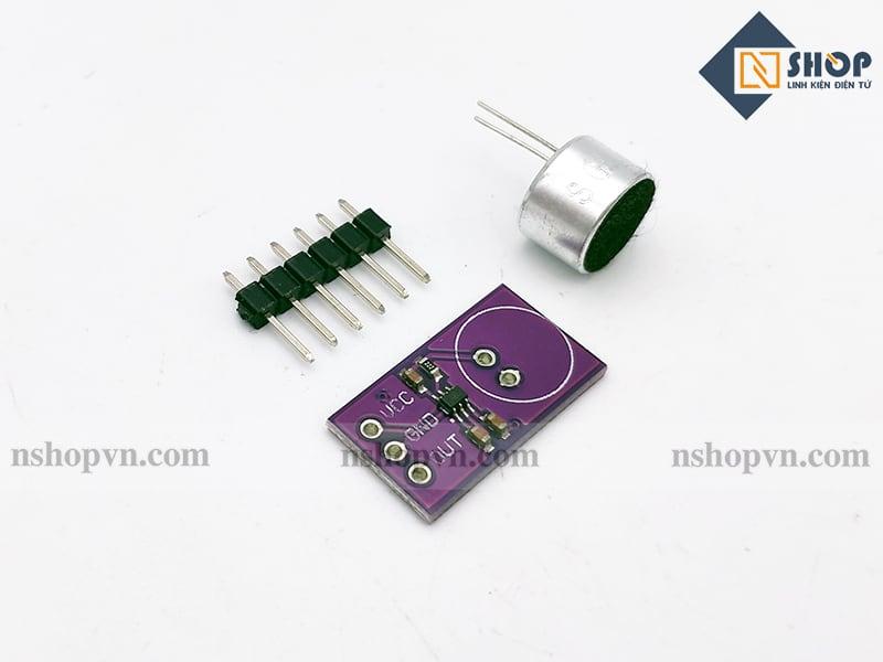 Cảm biến âm thanh tích hợp amly Max9812L