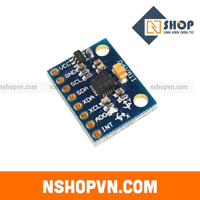 Cảm Biến gia tốc GY-521 6DOF IMU MPU6050