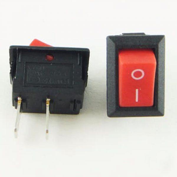 Công tắc 15x20mm (đỏ)