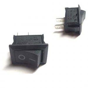 Công tắc bập bênh 10x15 (đen)