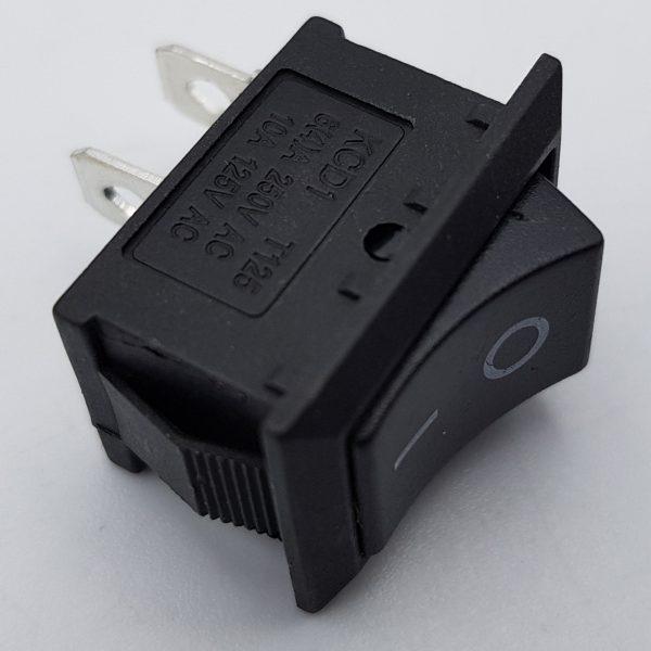 Công tắc bập bênh KCD1-101 15x20mm (đen)