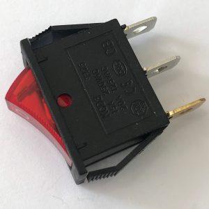Công tắc bập bênh có đèn KCD3-101N (đỏ)