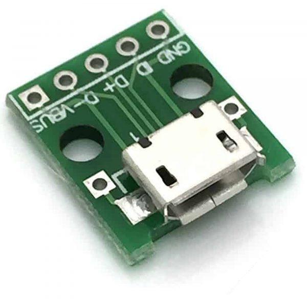 Đế ra chân micro USB đầu cái