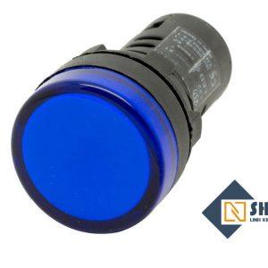 Đèn báo 16mm màu xanh dương 12VDC
