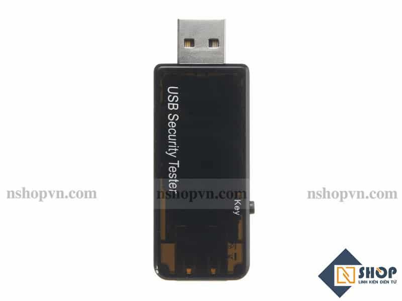 Đo điện áp, dòng và điện năng tiêu thụ USB Safe Tester