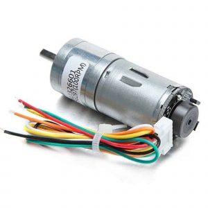 Động cơ DC giảm tốc GA25 Encoder 600rpm