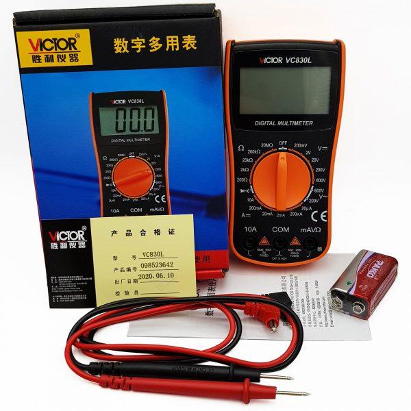 Đồng hồ điện tử VICTOR VC830L