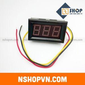 Đồng hồ đo áp 3 dây 0~30VDC
