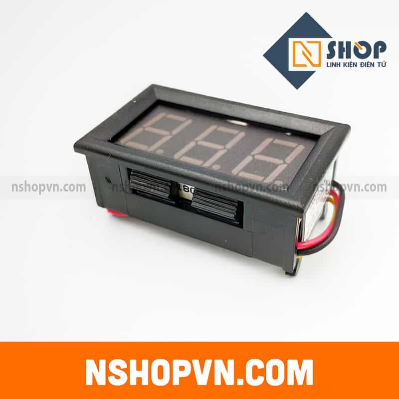 Đồng hồ đo áp DC 3 dây 0-300V