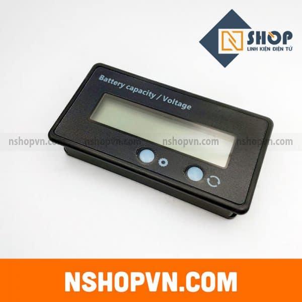 Đồng hồ hiển thị điện áp dung lượng pin đa năng