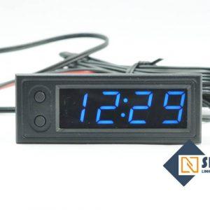 Đồng hồ hiển thị Thời gian, Nhiệt Độ, Điện Áp