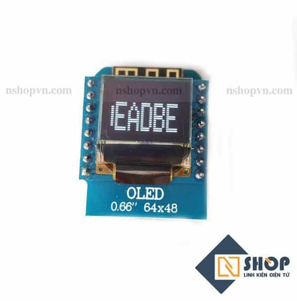 ESP8266 NodeMCU Lua D1 Mini Oled Shield