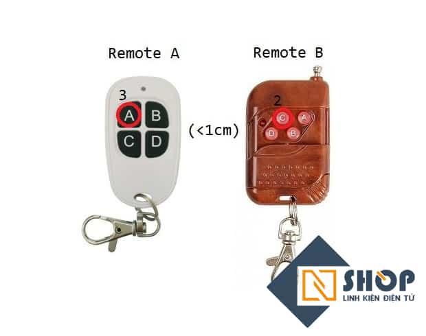 Giới thiệu và hướng dẫn sử dụng các loại remote học lệnh rf tần số 315mhz VÀ 433mhz