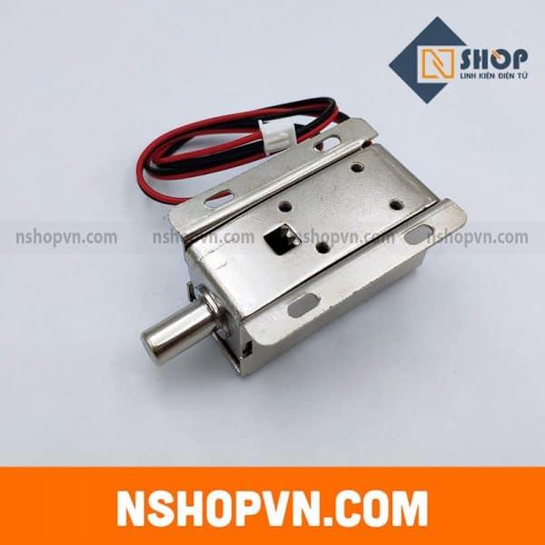 Khóa Chốt Điện Từ LY-01 12VDC