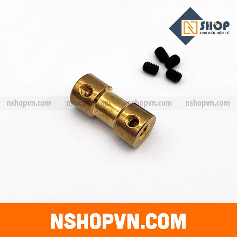 Khớp nối trục 2mm-3.17mm
