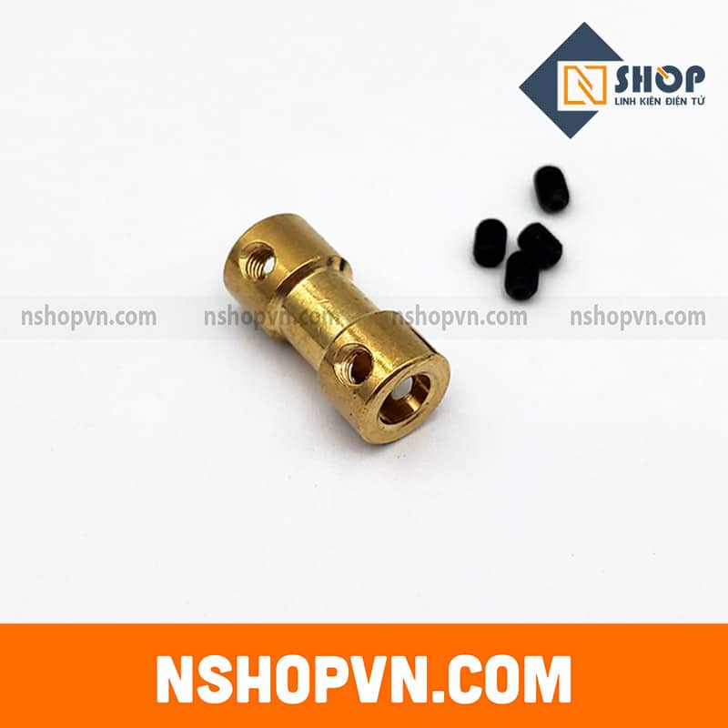 Khớp nối trục 3mm-6mm