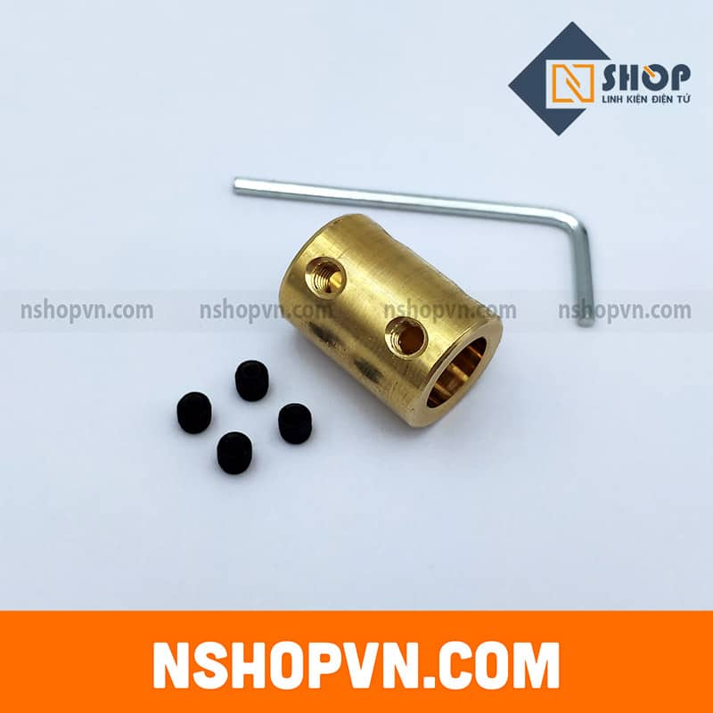 Khớp nối trục 6mm-10mm