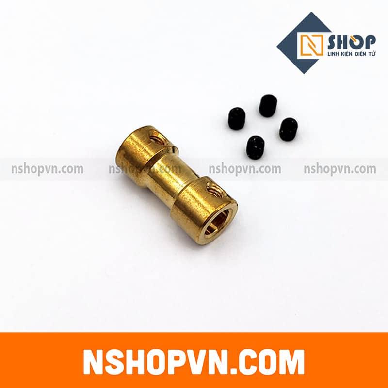 Khớp nối trục 6mm-6mm