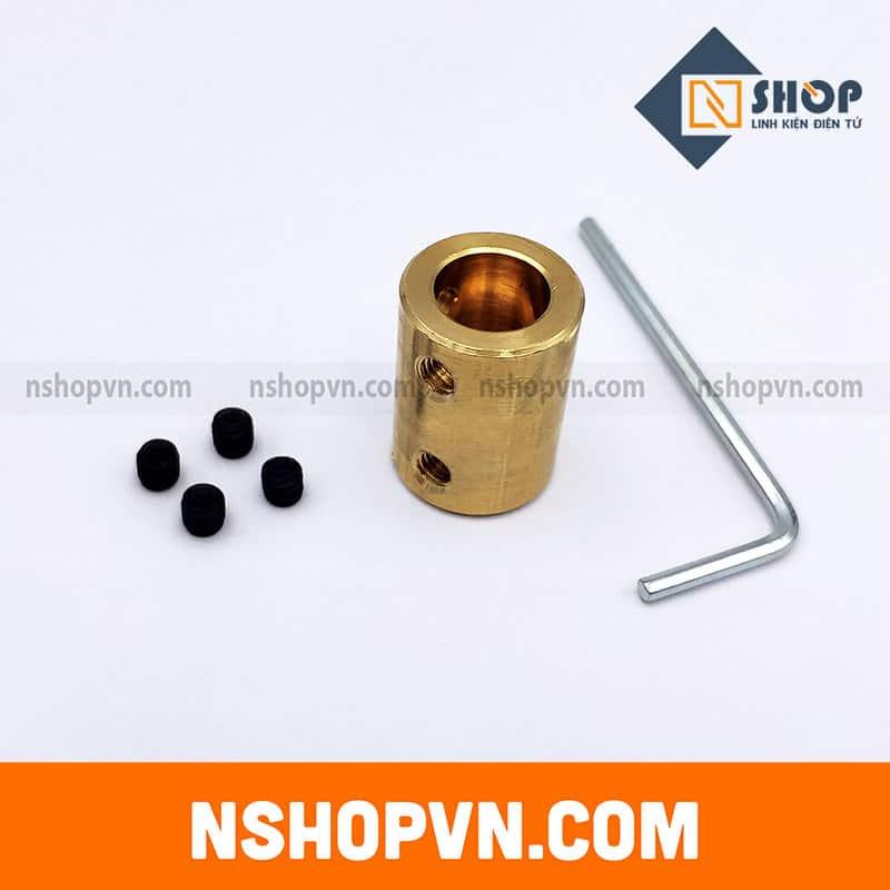 Khớp nối trục 8mm-10mm