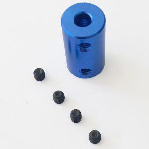 Khớp nối trục nhôm 5mm-5mm