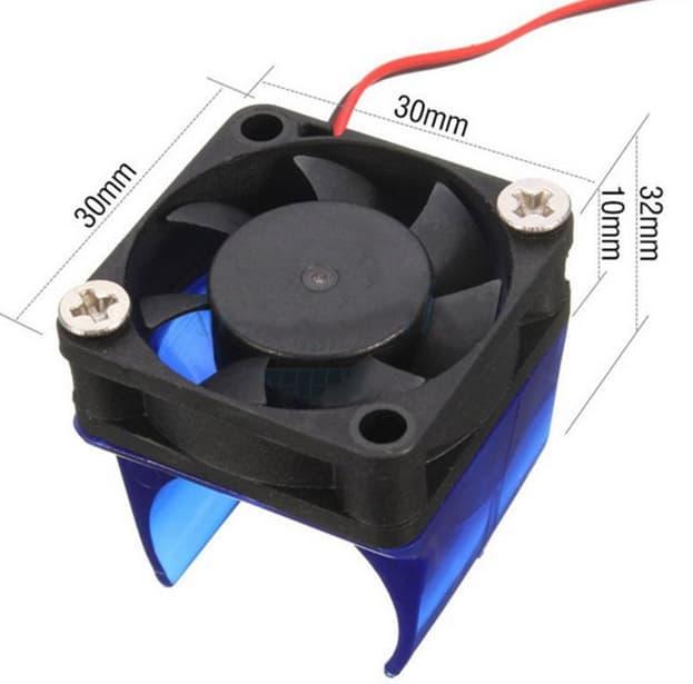 Bộ giá đỡ và quạt tản nhiệt đầu đùn E3D V6