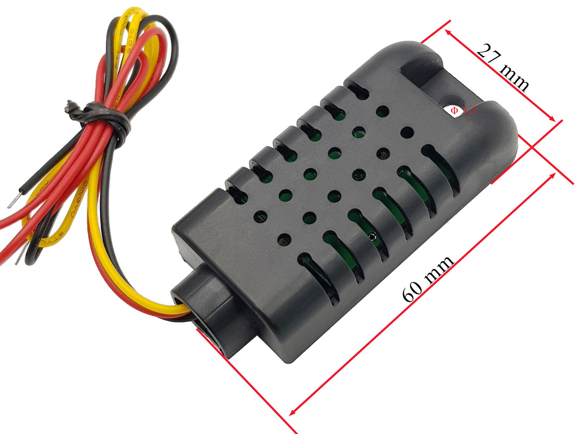 Kích thước Module Cảm Biến Độ Ẩm, Nhiệt Độ DHT21