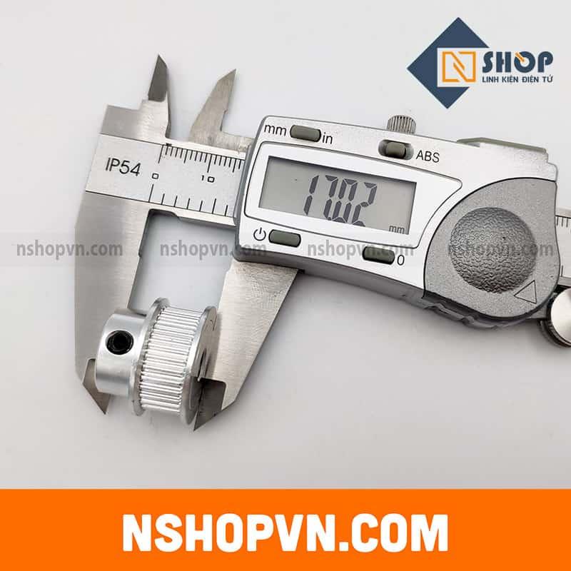 Puly GT2 30 răng trục 5mm