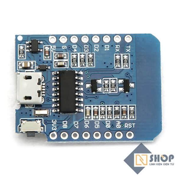 Kit RF Thu Phát Wifi ESP8266 NodeMCU Lua D1 Mini