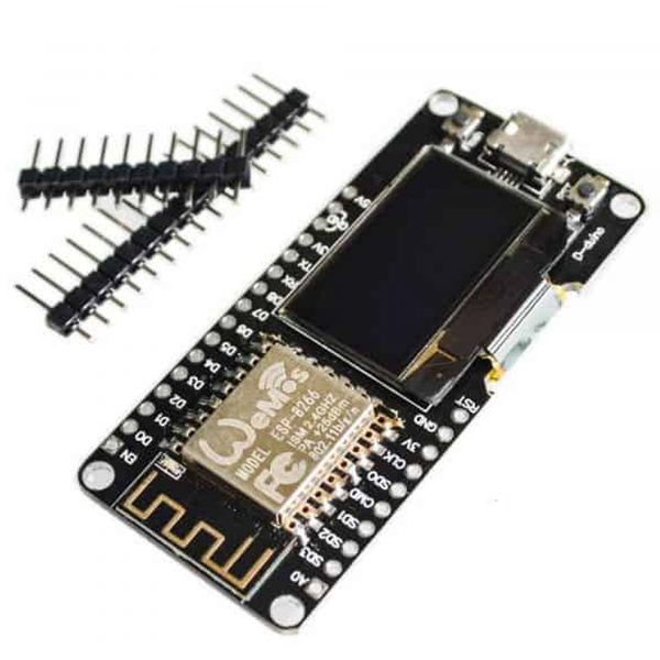 Kit thu phát Wifi ESP8266 NodeMCU Oled 0.96inch