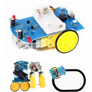 Kit Xe Robot Dò Đường Hàn Linh Kiện