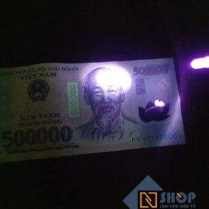 Led UV 5mm 360-365nm rọi tiền