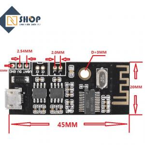 Mạch âm thanh Bluetooth 4.2 MH-M38 2x5W