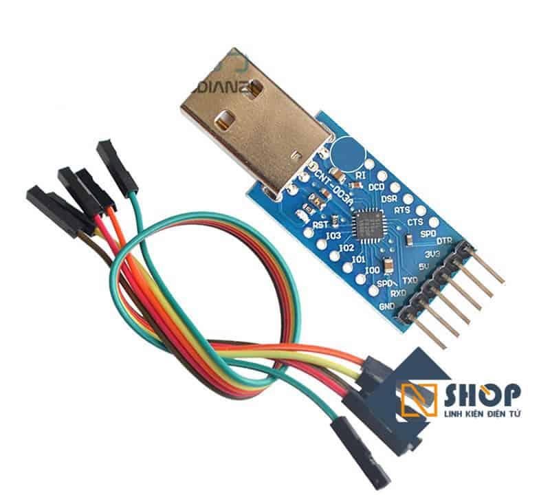 Mạch chuyển USB UART TTL CP2104