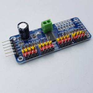 Mạch điều khiển 16 chanel pwm pca9685