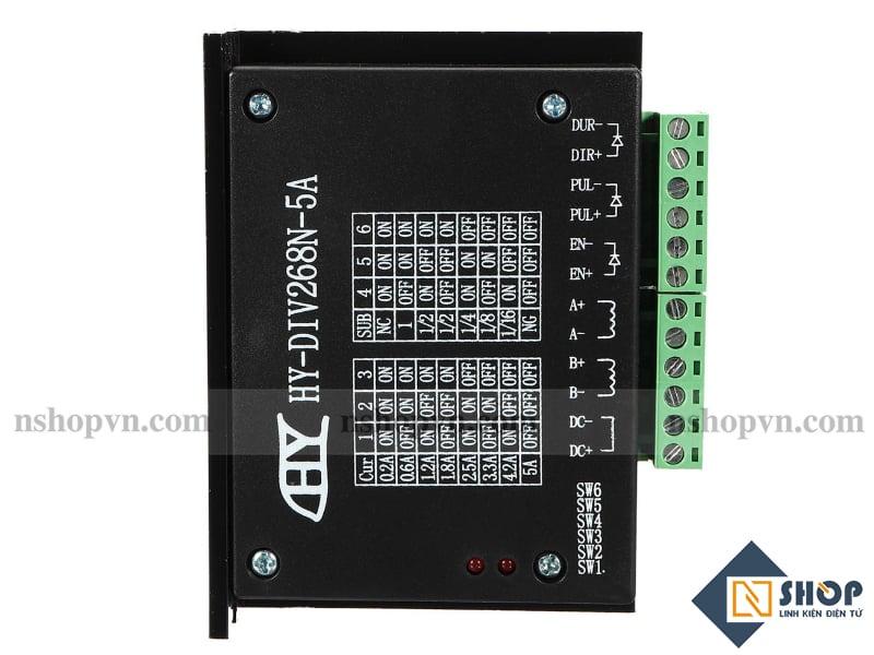 Mạch điều khiển động cơ bước TB6600 5A HY-DIV268N